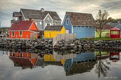 Colours on the Waterfront in Pictou, Nova Scotia