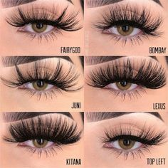 5 Tips For Beautiful Lashes Best False Eyelashes, Big Lashes, Eyelash Sets, Magnetic Lashes, Eyebrow Makeup, Eyelash Extensions, Hooded Eyes, Lash Names, Eyelash Logo