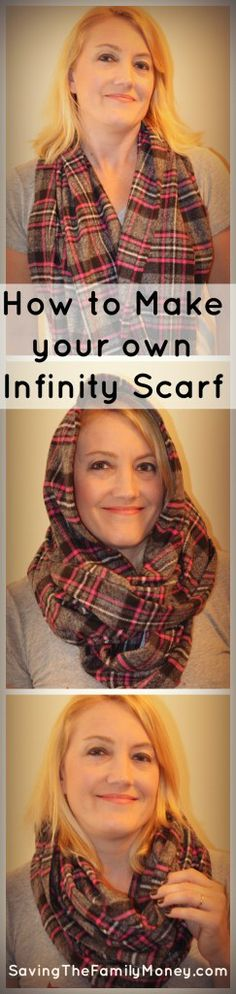 How to make your own infinity scarf