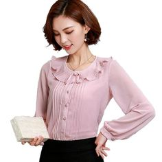 Check this out on my store : Casual Ruffled Design Blouse Long Sleeve Slim Chiffon Shirt http://periwinklefashion.com/products/new-spring-style-2017-fashion-korean-style-casual-ruffled-design-blouse-long-sleeve-slim-chiffon-shir-women-top-quality-blusas?utm_campaign=crowdfire&utm_content=crowdfire&utm_medium=social&utm_source=pinterest