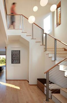 Interior Stair Railing Metal Modern Interior Stair