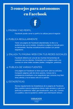 Autonomos en Facebook: 5 Cosas Que Deberias Aplicar Hoy Mismo