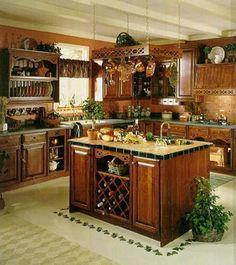 Decoracion.BlogsInside.com » cocinas rusticas