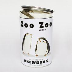 zoo zoo系列-coco & kuku-罐子Tee_空想生活