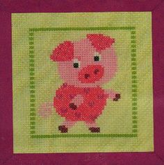 Piggy - Cross Stitch Kit