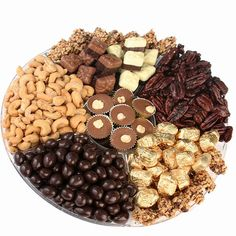 Buy and Save on Cheap Overflow of Kosher Nuts & Chocolate Gift Tray 13 at Wholesale Prices. Offering a large selection of Overflow of Kosher Nuts & Chocolate Gift Tray Cheap Prices on all Bulk Nuts, Bulk Candy & Bulk Chocolate.