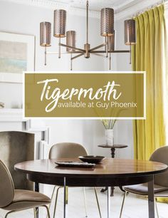 Tigermoth Lighting now available at Guy Phoenix Interiors.