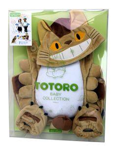 My Neighbor Totoro Studio Ghibli Cat Bus Baby Collection Kigurumi Set Cosplay   eBay