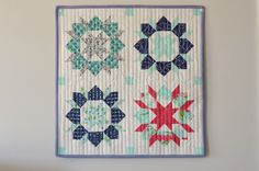 Hyacinth Quilt Designs: I made a quilt this weekend...