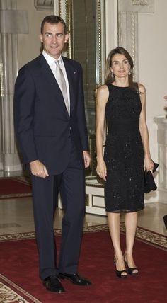 Princess Letizia, Prince Felipe
