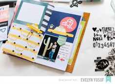 Video: Saturday By Dear Lizzy American Crafts and Travel Notebooks – Geekgalz