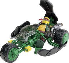 TMNT Ninja Stealth -moottoripyörä