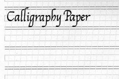 Ruled Calligraphy Paper-awesome site... choose the specific measurements you want the guides to be, based on the width of your pen nib...