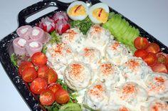 Dutch Kitchen, Tomato Pie, Dutch Recipes, Spare Ribs, Summer Salads, Salad Recipes, Potato Salad, Tapas, Macaroni And Cheese
