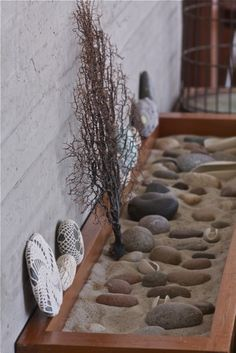 sand and rock garden, my guess is that the kids will dump it all out in less than 24hrs though...