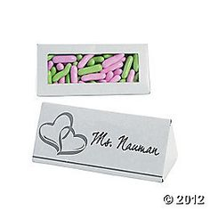 Wedding Placecard/favor boxes