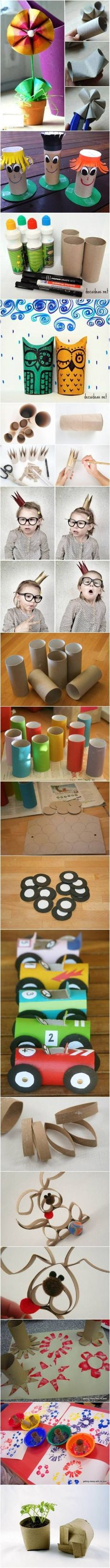 fun ways to use toilet paper tube
