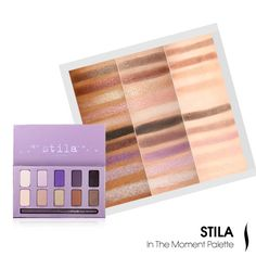 Stila In The Moment Eye Shadow Palette #SummerPalettes #Sephora #eyecandy