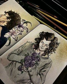 Okay crazily good fanart of Harry and Louis.