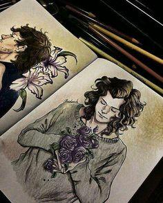 Okay crazily good fanart of Harry and Louis.