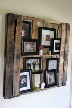 Several recycling pallets ideas..... From Shelving to Headboards: Reusing Old Pallets