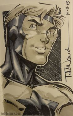 Booster Gold by Todd Nauck