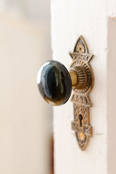 Vintage hardware makes any space feel special.