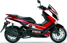 Yamaha NMax - Personal Stripe Concept