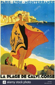 24x36 1950s Santa Margherita Ligure Italy Vintage Style Travel Poster