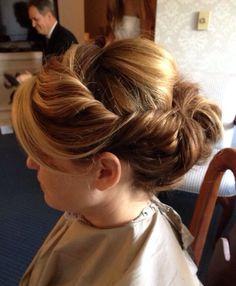 Bridesmaids hair: updo