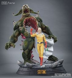 Saitama HQS by TSume Art - One Punch Man