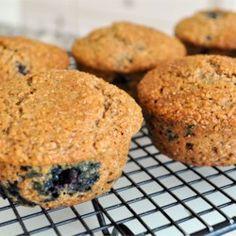 Low-Fat Blueberry Bran Muffins - Allrecipes.com