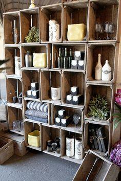 decorar con cajas de madera 18