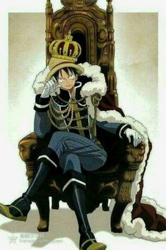 Our Pirate King Monkey D . Luffy
