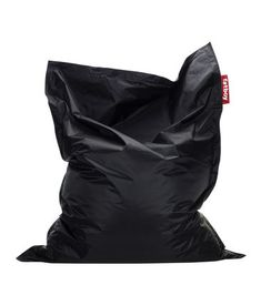 Fatboy The Original Puf by Fatboy - When it comes to comfort, you can't compromise. The iconic Fatboy pouf is the solution for those who like to relax in their own way - sitting, Extra Large Bean Bag, Large Bean Bags, Black Bean Bags, Large Bean Bag Chairs, Bean Bag Lounger, Sun Lounger, Spare Bed, Shape Of Your Body, Beach Houses