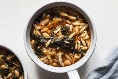 Tomato Orzo Soup with Kale