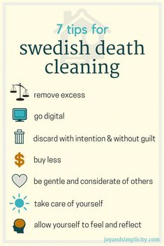 The Gentle Art of Swedish Death Cleaning: How to Free Yourself and Your Family from a Lifetime of Clutter Minimal Living, Simple Living, Vie Simple, Hygge Life, Declutter Your Life, D House, Life Organization, Clean House, Good To Know