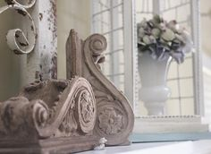 You can never have too many corbels sitting around lending their architectural interest.