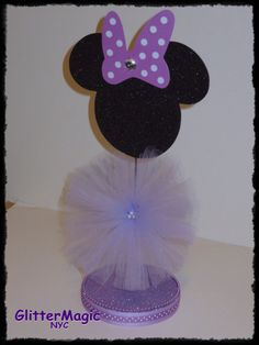 1 Minnie Mouse in Lavender/Purple  Minnie Mouse by GlitterMagic23s, $10.50