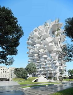 Sou Fujimoto's tree-inspired apartment building The Japanese architect's Arbre Blanc brings outdoor high rise living to a rejuvenated Montpelier