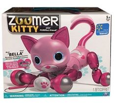 Zoomer Kitty – Pink Bella With Kitty Collar