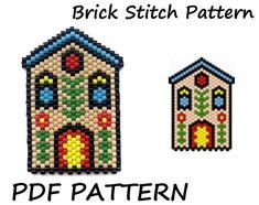 Peyote Stitch Patterns, Seed Bead Patterns, Beading Patterns, Bead Loom Bracelets, Beaded Bracelet Patterns, Beaded Earrings, Bead Loom Designs, Beaded Cross Stitch, Native American Beading