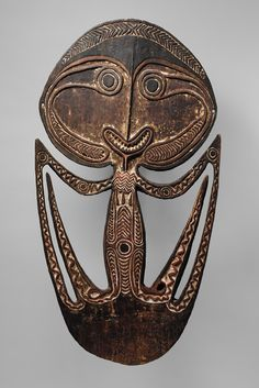 Skull Hook (Agiba) [Kerewa people, Pai'ia'a village, western Papuan Gulf, Papua New Guinea] (1978.412.796) | Heilbrunn Timeline of Art History | The Metropolitan Museum of Art