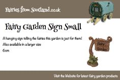 sign posts for fairies!