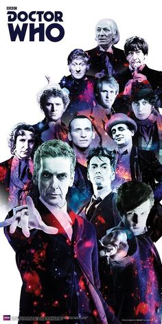 12 Doctors Poster.