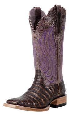 New Ariat boots available fall 2012 http://www.horsesandheels.com/2012/01/mondays-cowboy-boots-day-8/