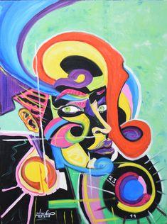 Original Abstract Painting by Ivan-condrache Laurentiu Art Expo, Oil On Canvas, Canvas Art, Original Artwork, Original Paintings, Vsco, Art Studios, Drawing, Buy Art