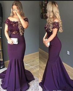 Simple Cheap Mermaid Purple Arabic Evening Gowns Scoop Lace Short Sleeve Trumpet Prom Party Dress Plus Size Mother Of Bride Dresses Soolk Wedding Dresses For Girls, Prom Party Dresses, Girls Dresses, Bridesmaid Dresses, Bride Dresses, Maxi Dresses, Fancy Dress Plus Size, Simple Prom Dress, Dress Patterns