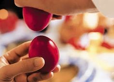 Cracking Easter Eggs more Greek Easter celebration a Greek Orthodox Easter Catholic Easter, Orthodox Easter, Armenian Recipes, Armenian Food, Lithuanian Food, Armenian Culture, Greek Easter, Easter Quotes, Easter Wishes