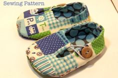 Jack and  Jill Loafers Baby Shoes PDF SEWING PATTERN. Baby Boy Clothing Sewing Pattern. Sizes Newborn - 18 months. $4.50, via Etsy.